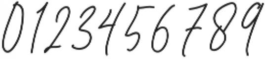 Murphy Script otf (400) Font OTHER CHARS