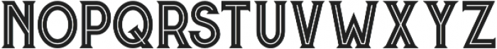 Murray Inline otf (400) Font LOWERCASE