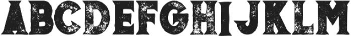 Murray bold grunge otf (700) Font LOWERCASE