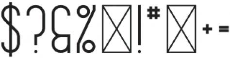Musa Black otf (900) Font OTHER CHARS
