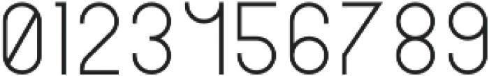 Musa ShortLight otf (300) Font OTHER CHARS