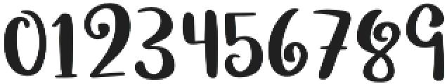 Mushroom Growing otf (400) Font OTHER CHARS