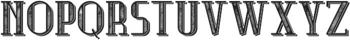 MusicianFont TextureShadow otf (400) Font UPPERCASE