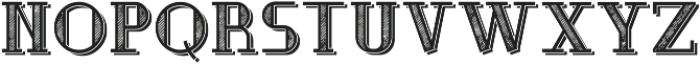 MusicianFont TextureShadow otf (400) Font LOWERCASE