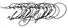 Musings - Lowercase Alt 3 otf (400) Font UPPERCASE