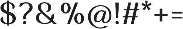 Musk Medium otf (500) Font OTHER CHARS