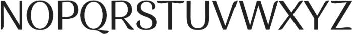 Musk Medium otf (500) Font UPPERCASE