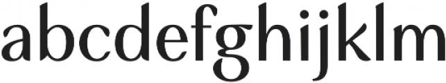 Musk Medium otf (500) Font LOWERCASE