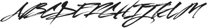 Mustang Roman otf (400) Font UPPERCASE