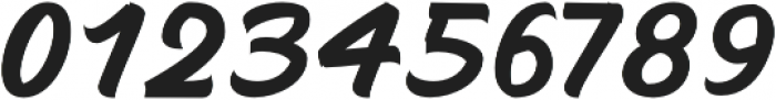 Mustank Script otf (400) Font OTHER CHARS