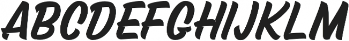 Mustank Script otf (400) Font UPPERCASE