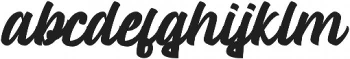 Mustank Script otf (400) Font LOWERCASE