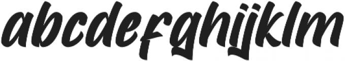 Mustank otf (400) Font LOWERCASE