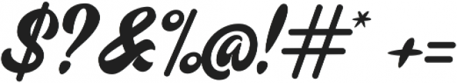 Mustardo Alternates ttf (400) Font OTHER CHARS