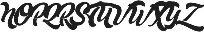 Mustardo otf (400) Font UPPERCASE