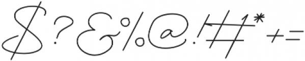 Mustika Regular otf (400) Font OTHER CHARS