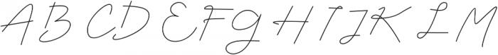 Mustika Regular otf (400) Font UPPERCASE