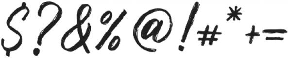 Muthea Regular otf (400) Font OTHER CHARS