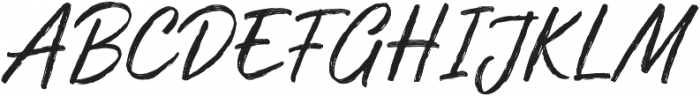 Muthea Regular otf (400) Font UPPERCASE