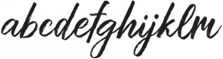 Muthea Regular otf (400) Font LOWERCASE