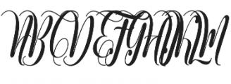 Muthya otf (400) Font UPPERCASE