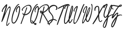 Mutiara Regular otf (400) Font UPPERCASE