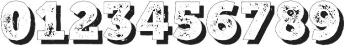 Mutiara VintageShadow Regular otf (400) Font OTHER CHARS