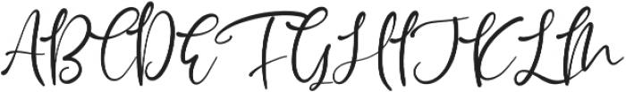 Muttiffula otf (400) Font UPPERCASE