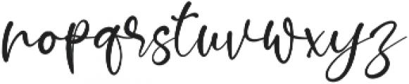 Muttiffula otf (400) Font LOWERCASE
