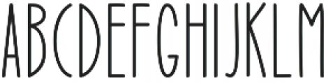 Mutual Dreaming otf (400) Font UPPERCASE