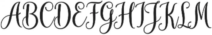 mudhisa bold Regular otf (700) Font UPPERCASE