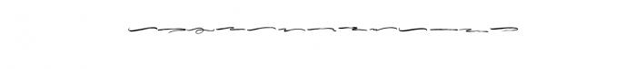 MustangBrushSwashes-Regular.otf Font UPPERCASE