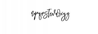 Mustangbrush-Regular.otf Font LOWERCASE