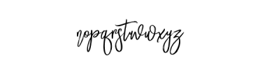 Mustangbrushalt.-Regular.otf Font LOWERCASE
