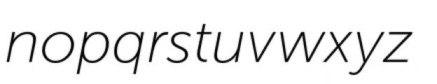 Museo Sans Cyrillic 100 Italic Font LOWERCASE