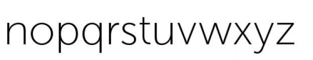 Museo Sans Cyrillic 100 Font LOWERCASE