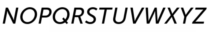 Museo Sans Cyrillic 500 Italic Font UPPERCASE