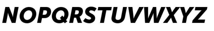 Museo Sans Cyrillic 900 Italic Font UPPERCASE