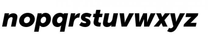 Museo Sans Cyrillic 900 Italic Font LOWERCASE