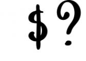 Mushroom Growing Script Font 1 Font OTHER CHARS
