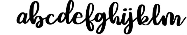 Mushroom Growing Script Font 1 Font LOWERCASE