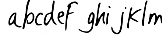 Must Have | Handwritting Font Font LOWERCASE