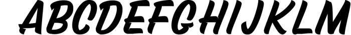 Mustank Casual Script 4 Font UPPERCASE