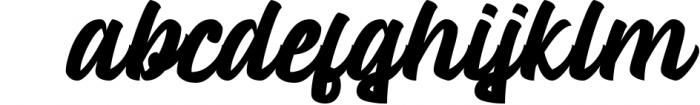 Mustank Casual Script 4 Font LOWERCASE