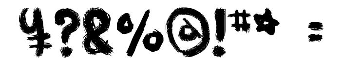 MUKOKUSEKI KITCHEN Font OTHER CHARS