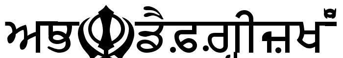 MUNNA Font UPPERCASE