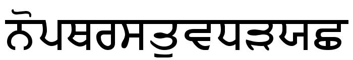 MUNNA Font LOWERCASE