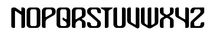 Mualk Font UPPERCASE