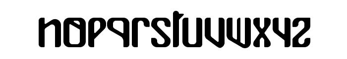 Mualk Font LOWERCASE