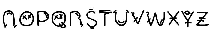 Mucho Fresco Font UPPERCASE